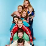 En härlig familj